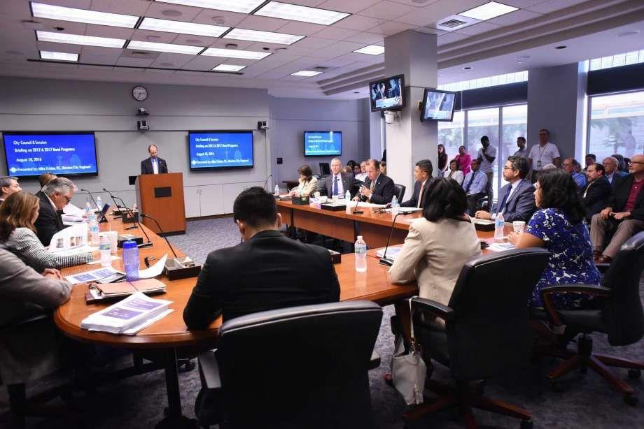 Council Views Bond Framework