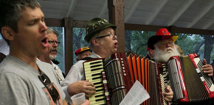 Rivard Report: Despite Rain, Parktoberfest Celebrates Brackenridge, German Heritage