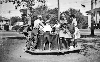 Vintage Photo from Brackenridge Park